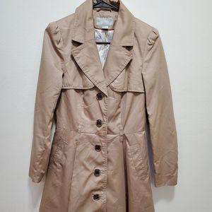 Women's H&M Khaki Trench Coat